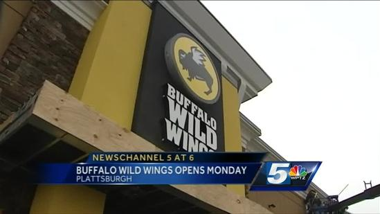 Buffalo Wild Wings sets opening date in Plattsburgh