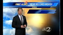 Sunday Outlook: Above Average Temps Continue