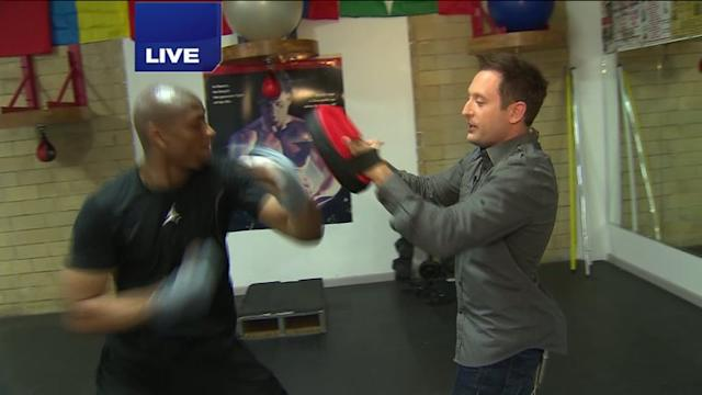 World`s Fastest Boxer Slowed Down