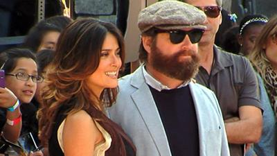 Zach Galifianakis' 'Hectic' Time At The 'Puss In Boots' Premiere
