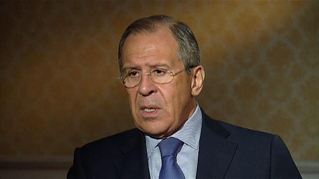 Russia Foreign Minister: Won't Cross Into Ukraine