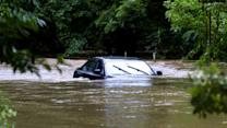 Flash flooding drenches parts of East Coast