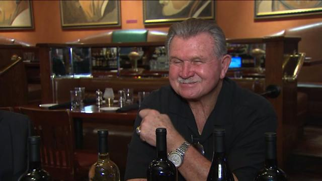 Mike Ditka Shaving His Mustache???