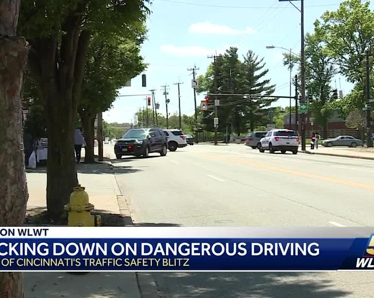 Authorities cracking down on dangerous driving