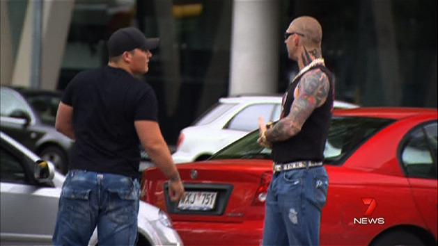 Former bikie jailed over banned rifle