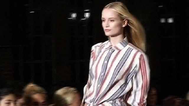 Tommy Hilfiger's preppy New York Fashion Week collection