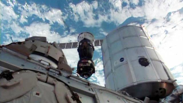 Watch: Russian Soyuz separates from the International Space Station