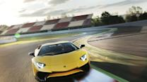 Driving The Lamborghini Aventador SV