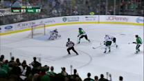 Erik Cole buries the breakaway past Kuemper