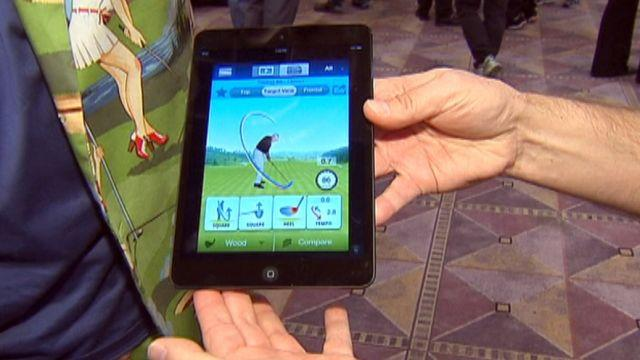 Sync your golf swing to your mobile phone