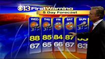 Bob Turk Has Your Tuesday Evening Forecast