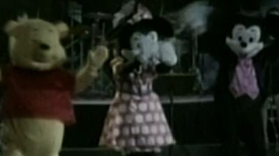 Raw Video: Disney Characters Hit N. Korean Stage