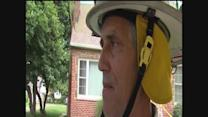RAW INTERVIEW: Firefighter from Euclid house explosion scene