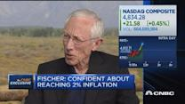 Fed's Fischer: Confident about reaching 2% inflation