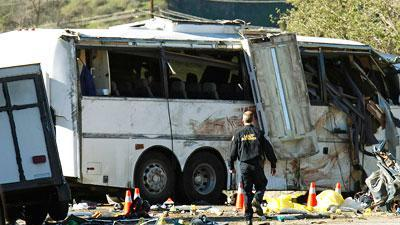 Tour Bus in Calif. Crash Cited for Brake Issues