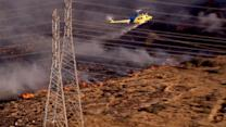 Springs Fire nears containment at 80 percent