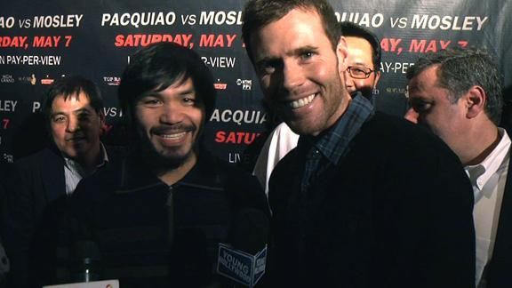 Manny Pacquiao vs Sugar Shane Mosley: Before the Big Fight