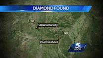 Oklahoma City girl finds 3 carat diamond in Arkansas