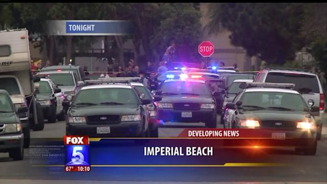 Attempted Murder Suspect Holed Up In Imperial Beach