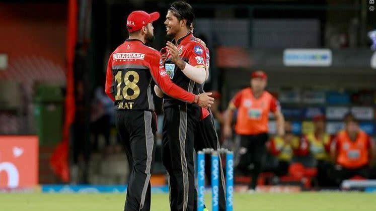 Umesh Yadav and Virat Kohli (Picture courtesy: IPLT20.com/BCCI)