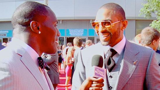 ESPYs Red Carpet Wrangler Takeo Spikes Chats with Matt Kemp and More