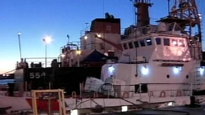 Tonight At Six: Coast Guard Cutter Moves To New Home