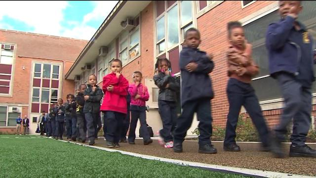 New playground, field for CPS school at center of safety crackdown