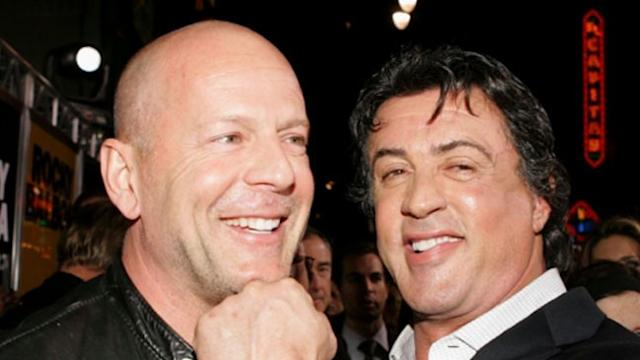 Stallone Calls Bruce Willis 'Greedy and Lazy' on Twitter