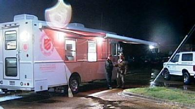 Salvation Army Feeds Yazoo Storm Victims
