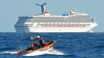 Cruise ship stranded after fire knocks out power
