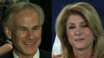 Abbott, Davis Nominated in Texas Governor's Race