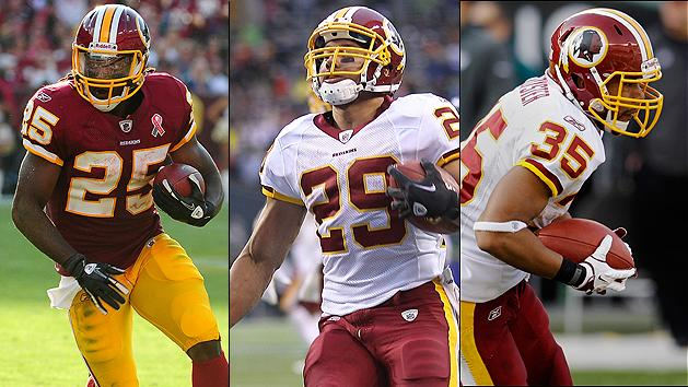 Tim Hightower's domino effect in Redskins' backfield