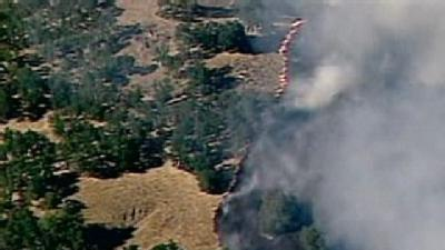 Wildfire Burns 400 Acres In Napa