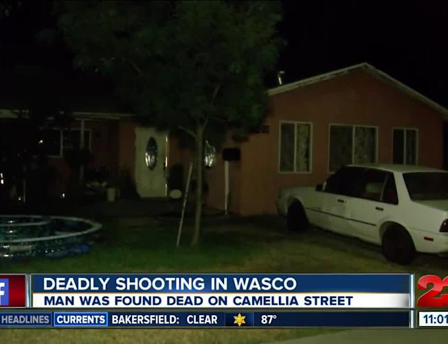 Kern County Sheriff's Office releases identity of man killed in Wasco  shooting Tuesday night