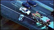 100 gallons of fuel spill in I-95 crash, 1 injured