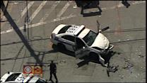 6 Injured In Serious Accident Involving A Police Cruiser In East Baltimore