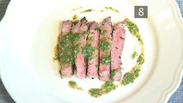 How To Make Charcoal Grilled Entrecote With Anchovy Sauce