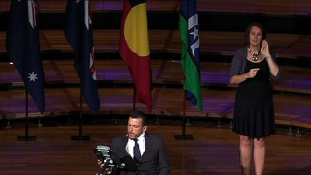 Fearnley delivers Australia Day address