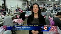 Local woman's business spreads through social media