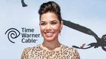 America Ferrera's Dragon Tears