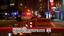 Driver Being Chased Strikes Pedestrian In San Francisco's South Of Market