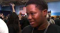 President Obama meets with Hyde Park Academy students