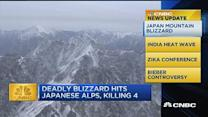 CNBC update: Deadly blizzard hits Japanese Alps