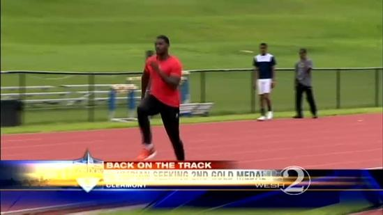 Track star goes for another gold in London