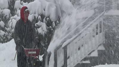 Mass. Resident: 'Surprised' by Amount of Snow