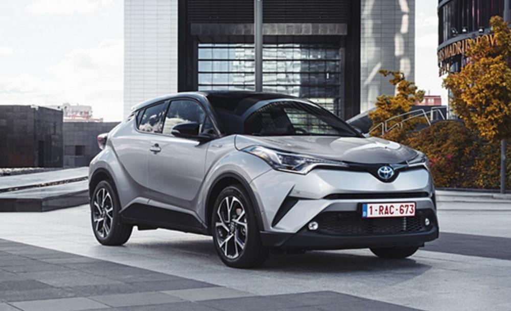 都會跨界新秀 Toyota C-HR ,在歐洲地區有 80 % 的車主都選擇了 Hybrid 動力。