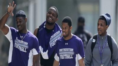 Northwestern Players Vote on Union Question
