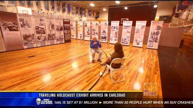 Traveling Holocaust exhibit arrives in Carlsbad