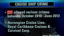 Crime on the high seas: Cruise lines release grim onboard data