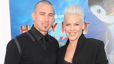 Pink Brings The Family To Her 'Happy Feet 2' Premiere